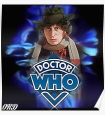 Doctor Who 50th Anniversary - Fourth Doctor Poster