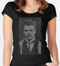 Hermann Rorschach Lines Women's Fitted Scoop T-Shirt