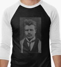 Hermann Rorschach Lines Men's Baseball ¾ T-Shirt