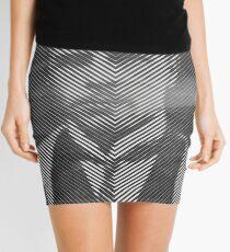 Hermann Rorschach Lines Mini Skirt