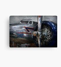 Transportation - Plane - Hey fly boy  Canvas Print