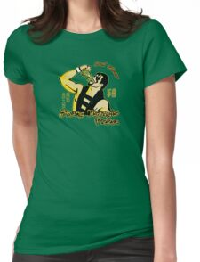 Shang Tsung's Pizza Womens Fitted T-Shirt