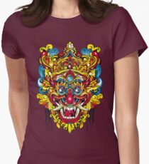 Mask_Color Women's Fitted T-Shirt