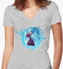 Ice Doll Women's Fitted V-Neck T-Shirt