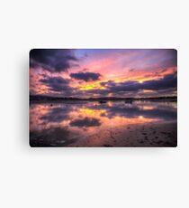 Purple Bembridge Canvas Print