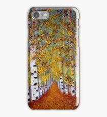 Birch trees iPhone Case/Skin