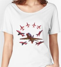 The RAF Red Arrows Women's Relaxed Fit T-Shirt