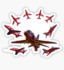 The RAF Red Arrows Sticker
