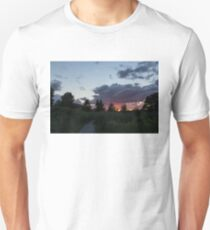 A Path to the Sunset - Summer Walk in the Park Unisex T-Shirt