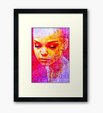 Face 30 Framed Print