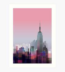 New york, NYC city ! Art Print