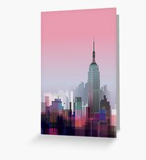 New york, NYC city ! Greeting Card