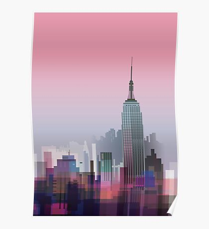 New york, NYC city ! Poster