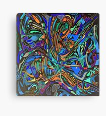Find the Lady REVERSI Canvas Print