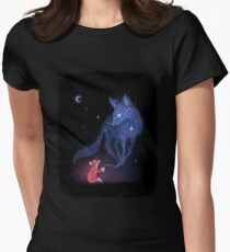 Celestial Womens Fitted T-Shirt