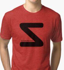 Synergist Logo Tee (black S) Tri-blend T-Shirt