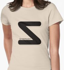 Synergist Logo Tee (black S) Women's Fitted T-Shirt