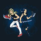Axe Sisters by dooomcat