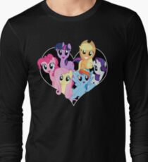 chest heart ponies  T-Shirt
