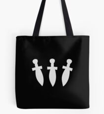 DAGGER DAGGER DAGGER! (White) - Critical Role Design Tote Bag