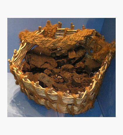 A Basket of Peat Fotodruck