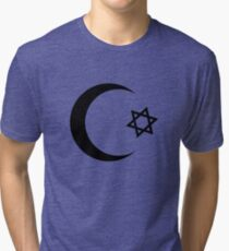 Universal Unbranding - Je t'aime... Moi non plus Tri-blend T-Shirt