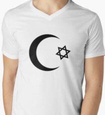 Universal Unbranding - Je t'aime... Moi non plus Men's V-Neck T-Shirt