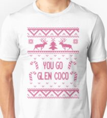 Pink You Go Glen Coco Ugly Sweater T Shirt T-Shirt