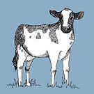 Holstein Friesian Cow Fanimal by Jaaay