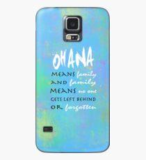 Ohana Case/Skin for Samsung Galaxy
