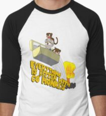 Everything is Better with CG monkies Men's Baseball ¾ T-Shirt