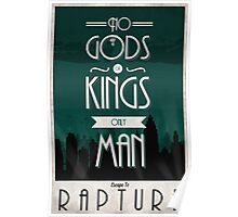 Rapture Travel Poster Poster