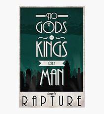 Rapture Travel Poster Photographic Print