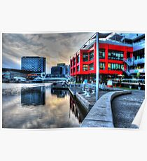 Melbourne Waterfront - HDR Poster