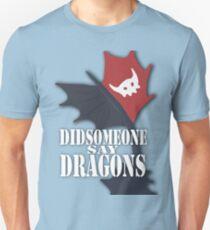 """Did Someone Say ""DRAGONS"" HTTYD Fandom Tee T-Shirt"