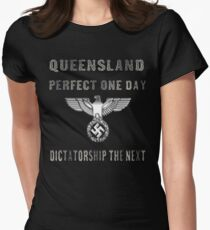 QLD, PERFECT ONE DAY Women's Fitted T-Shirt