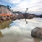 Bay Of Fires Morn by John Dekker
