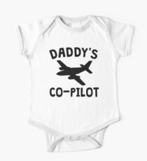 Daddy's Co-Pilot Kids Clothes