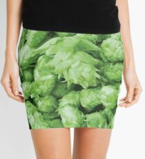 Craft Beer Hop Cones Mini Skirt