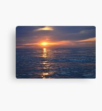 Long Island Sunset Canvas Print