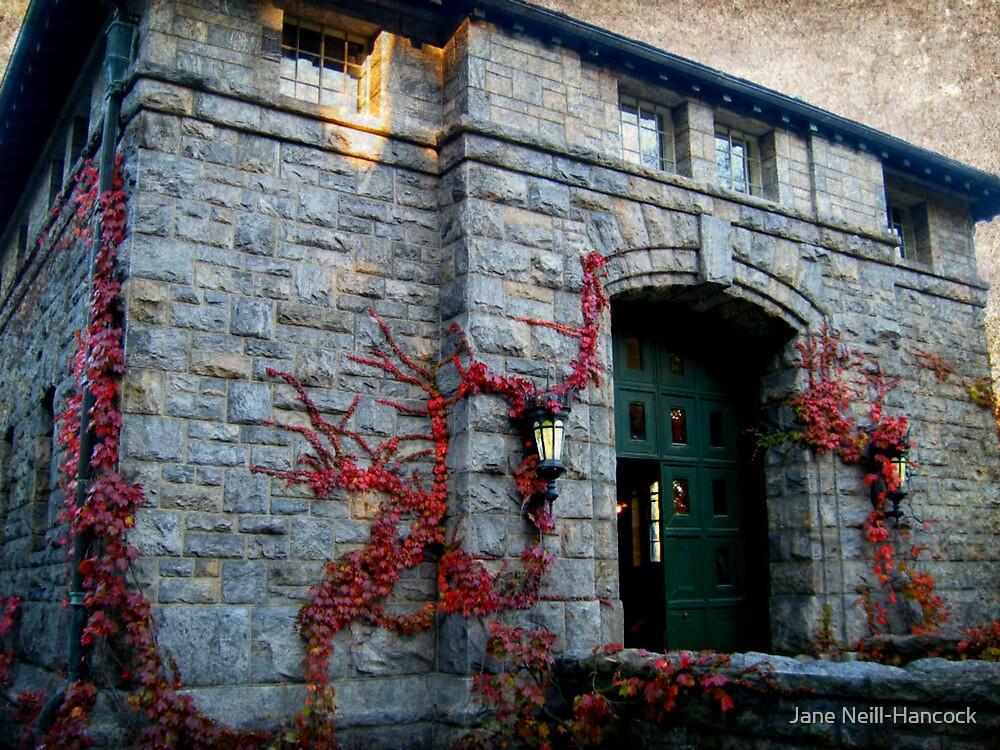 The Coach Barn and Museum at Kykuit, Sleepy Hollow NY by Jane Neill-Hancock
