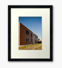 Modern buildings  Framed Print