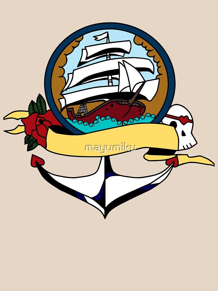Pirate ship by mayumiku