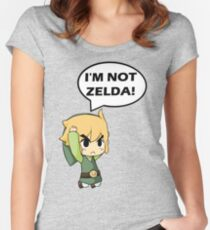 I'm Not Zelda Women's Fitted Scoop T-Shirt
