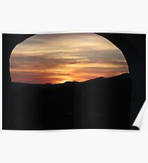 sunset through the arch 2013 Poster