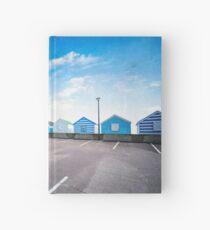 Beach Huts Hardcover Journal