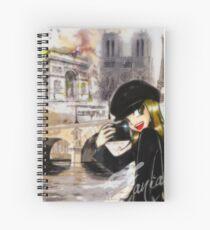 Paris my Way Spiral Notebook
