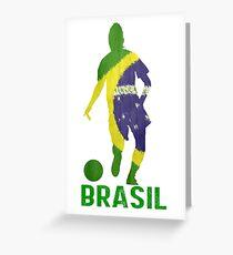 Brasil Greeting Card