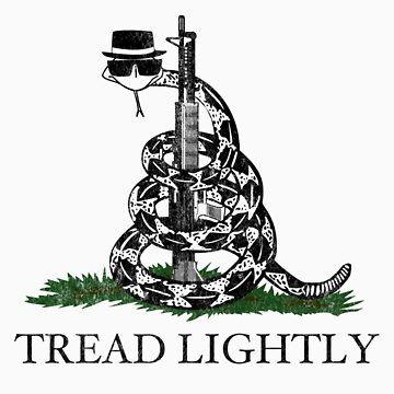 Tread Lightly by JaleebCaru