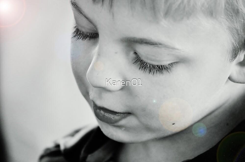 Wishing on eyelashes by Karen01